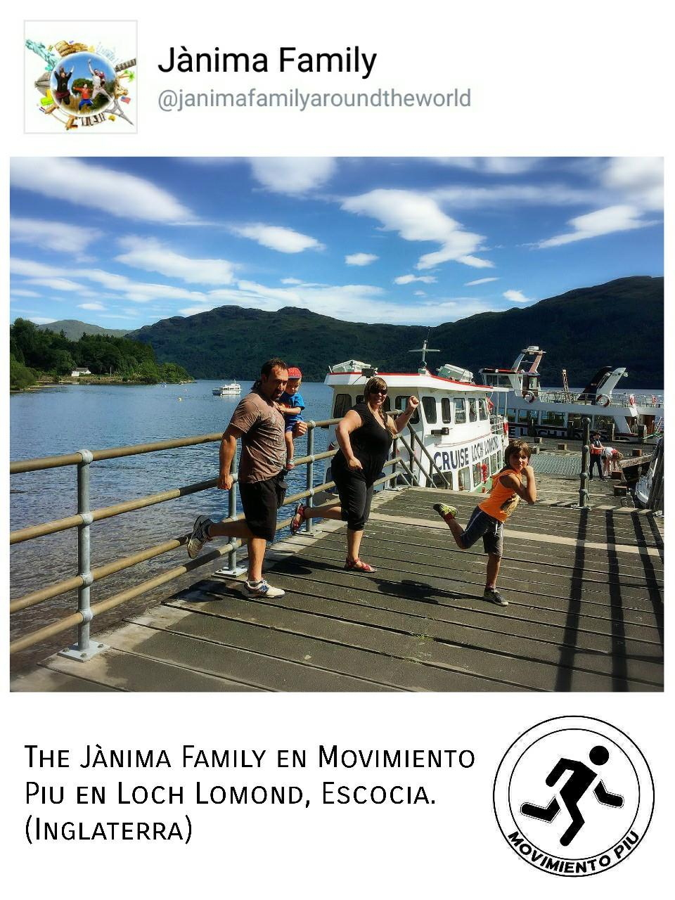 Jànina Family Loch Lomond