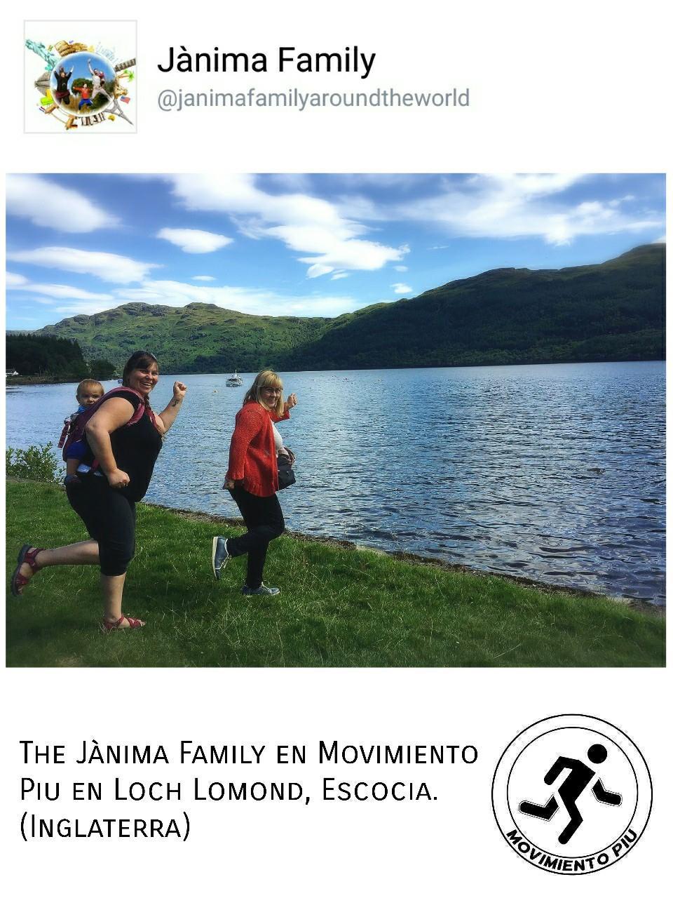 jânima Family Loch Lomond